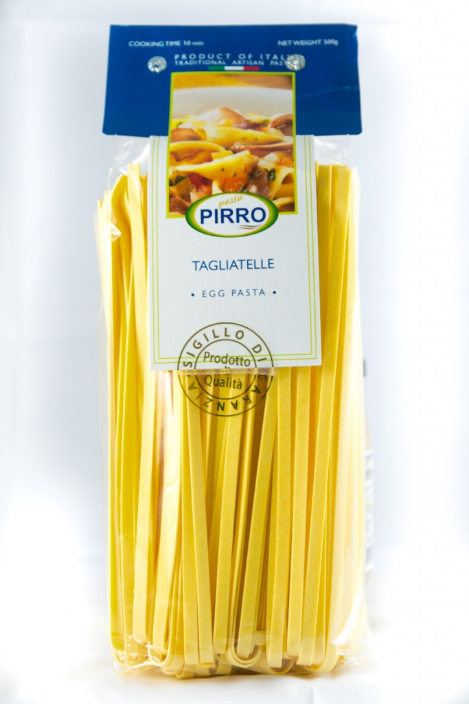 Tagliatelle Pasta Dried 500g Packet Pirro
