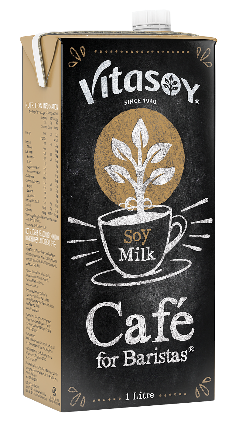 Vitasoy Café For Barista - Soymilk (12 x 1lt) Case