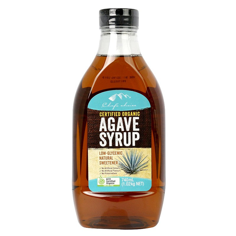 Organic Agave Syrup 740ml Chef's Choice