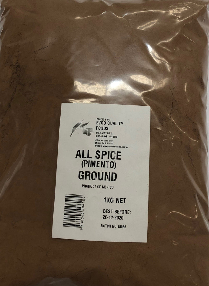 Allspice Ground 1kg Bag EVOO QF