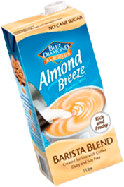 Almond Breeze Barista Blend 12 x 1lt - Carton (Blue Diamond)