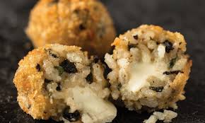 Arancini Balls Truffle and Mushroom Gluten Free Frozen (4 Days Pre Order) (Sold as Carton Only) WA Produced,