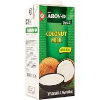 Coconut Milk 1L Aroy-D Tetra Pack