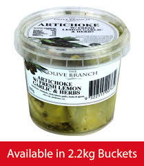 Artichokes Char with Lemon Garlic and Herbs 2.2kg (Pre Order 5 Days) Olive Branch