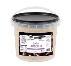 Baba Ghanoush Dip 2kg Tub (Call Office For Availability) Black Swan