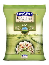 Basmati (Everyday) Rice 5kg Bag Daawat