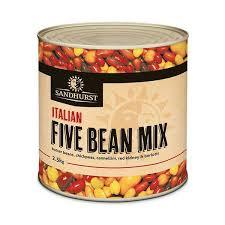 5 Bean Mix A9 Tin Sandhurst