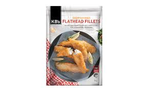 Beer Battered Flathead 5 x1kg Carton KB
