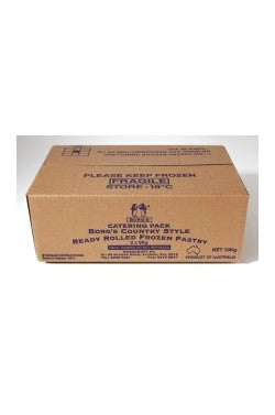Pastry Shortcrust 10kg Roll Box