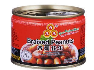 Braised Preserved Peanuts 175g Jar
