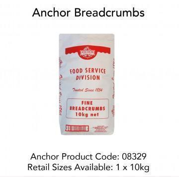 Breadcrumbs Fine 10kg Bag Anchor