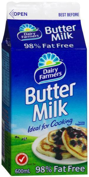 Buttermilk 600ml DairyFarmers
