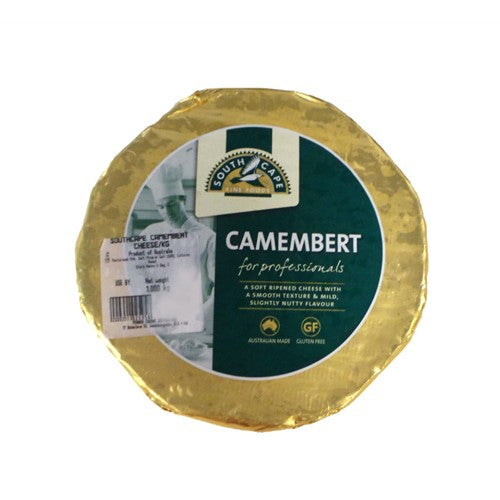 Camembert Cheese ** RW** (Priced Per kg) South Cape