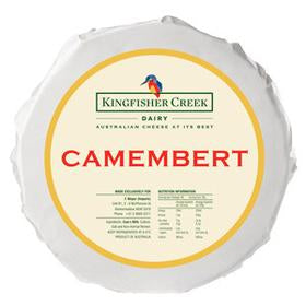 Camembert Cheese ** RW** (Priced Per kg) (Pre Order 5 Days) King Fisher