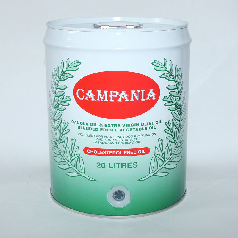 Campania Oil 20lt Drum (Blend of Olive / Canola / Vegetable Oil)