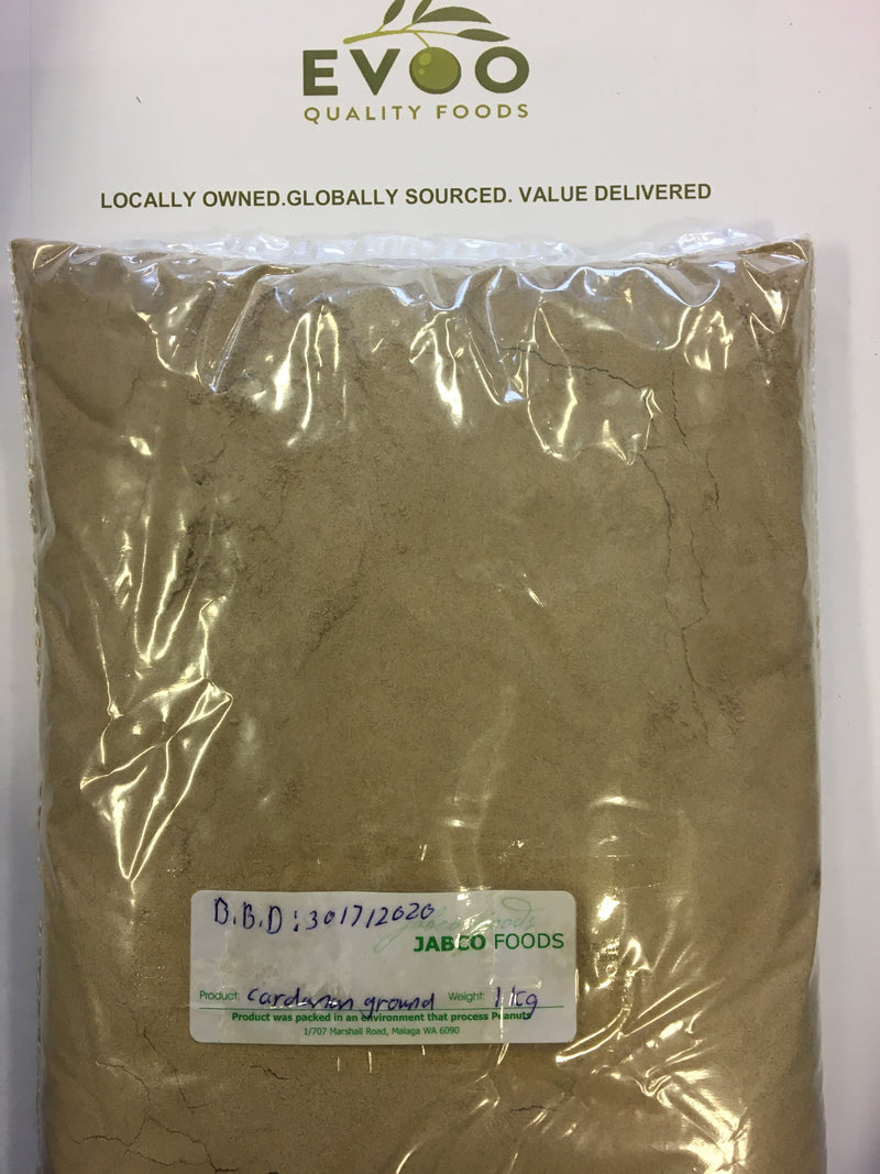 Cardamom Ground 1kg Bag EVOO QF