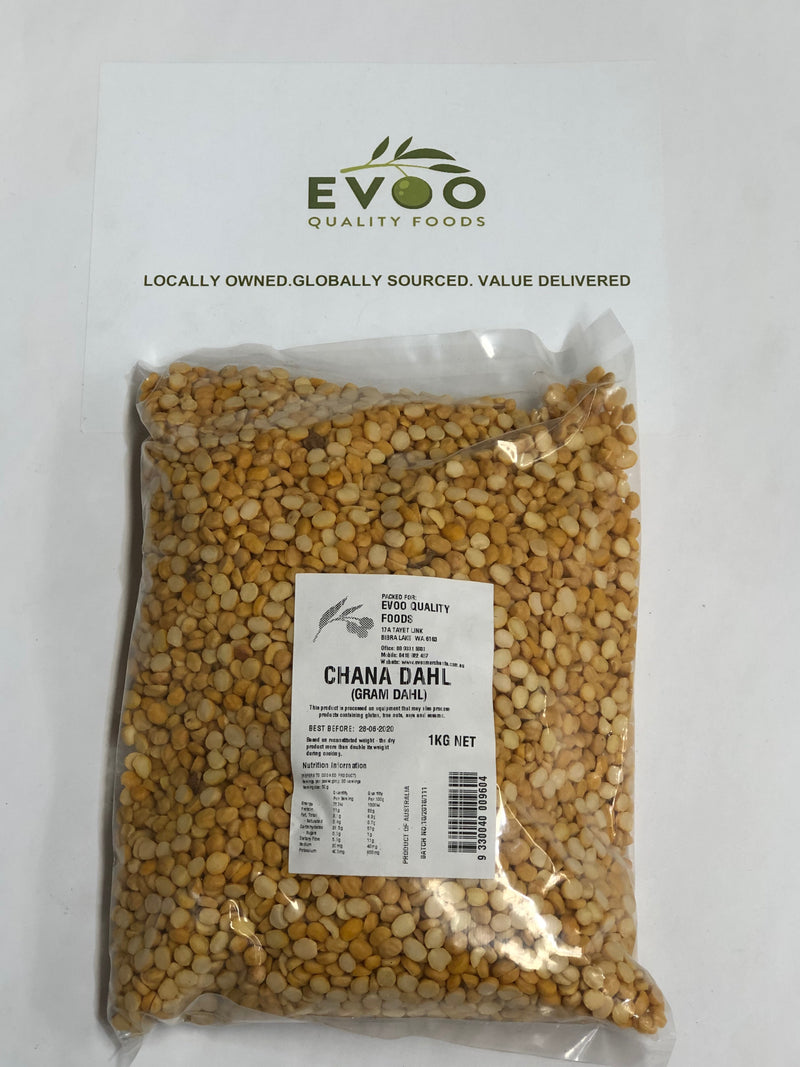 Chana Dhal 1kg Bag