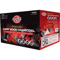 BBQ Fuel Chargriller Lump Wood Charcoal 10kg