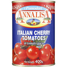 Tomatoes cherry 400gm tin Annalisa
