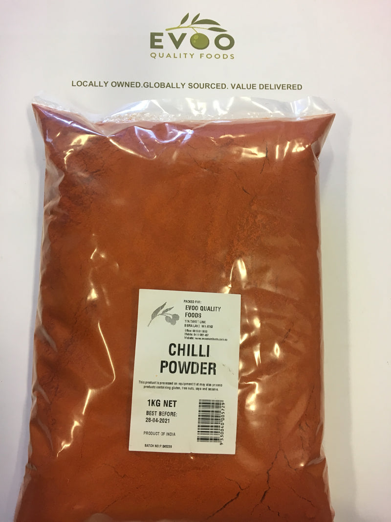 Red Chilli Powder/ Ground 1kg Bag
