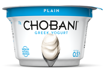 Plain Greek Yoghurt 170g Chobani (Pre Order 5 Days)