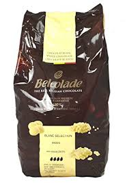 White Chocolate Drops 5kg Bag