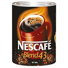 Nescafe Coffee Blend 43 500g Tin Nescafe