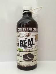 Cookies & Cream Milkshake Syrup 1.5lt Bottle The Real Milshake Co