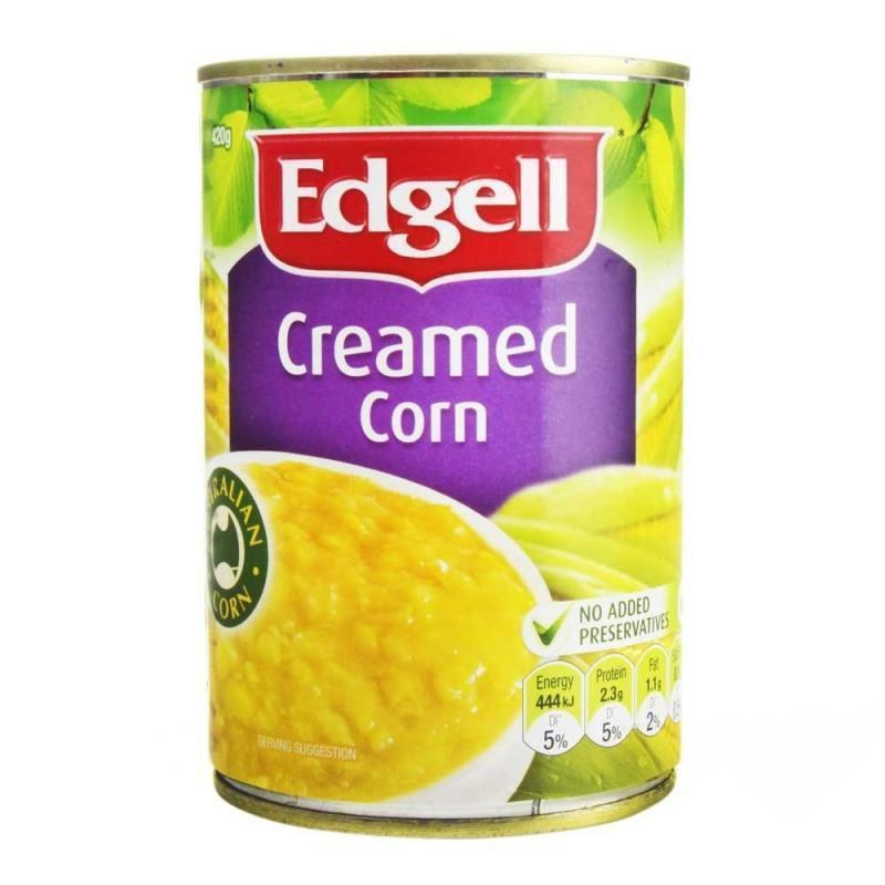 Corn Creamed 420g Tin Edgell (Pre Order 2Days)