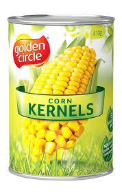 Whole Corn Kernels in Brine 410gm Golden Circle