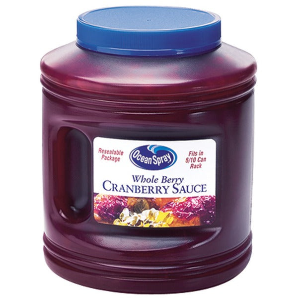 Cranberry Sauce 2.86kg Tub Ocean Spray (Pre Order)