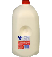 Thickened Cream 5lt Bottle Bulla