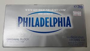 Cream Cheese 2kg Block Philadelphia