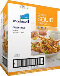 Crispy Marinated Squid Tentacles (5x1kg) CARTON ONLY