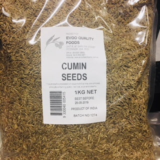 Cumin Seeds 1kg Bag