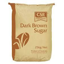 Dark Brown Sugar 25kg Bag CSR