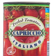 Whole Peeled Tomatoes A9 Capriccio