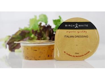 Italian Dressing Vinaigrette Portion Control 210 X 25ml Box Birch & Waite