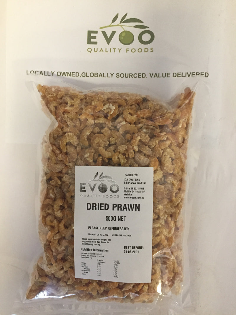 Dried Prawns 500g EVOOQF (Pre Order 2 Days)