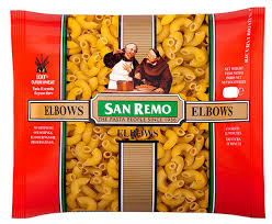 Elbows Pasta Dried Large 5kg Packet San Remo (#35)
