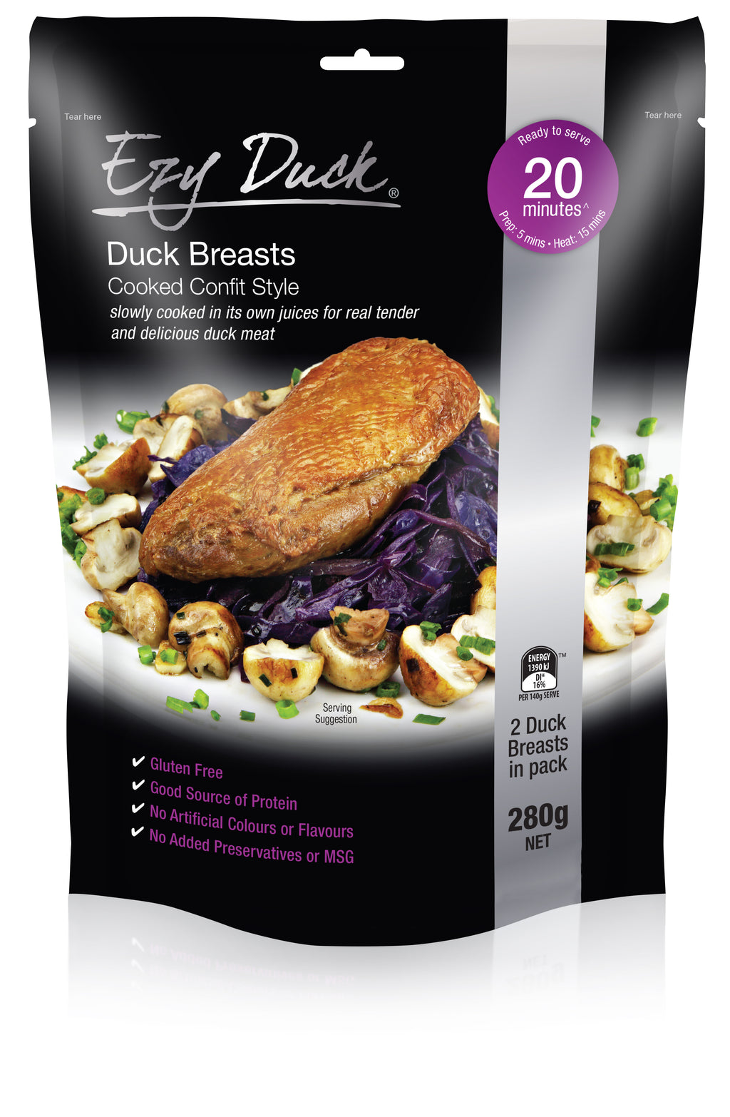 Duck Breasts 280g Pkt Ezy Duck (Pre Order)