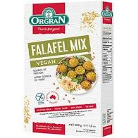 Falafel Mix Vegan 200g box Orgran (3 days pre order)