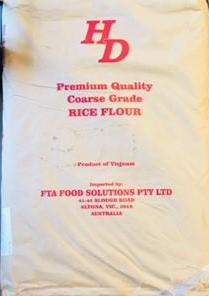Rice Flour Coarse 25kg Bag (Pre Order) Mr Bean