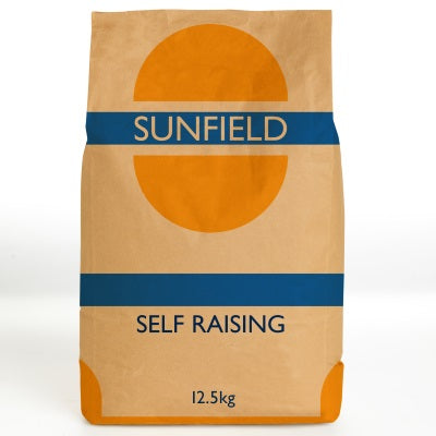 Self Raising Flour 12.5kg Sunfield