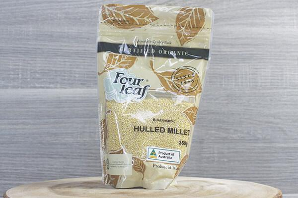 Organic Hulled Millet 350g (Four Leaf)