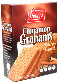 Cinnamon Graham Crackers Gluten Free 210gm Packet Lieber's