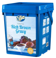 Rich Brown Gravy Mix Gluten Free 8kg Tub Edlyn