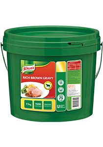 Rich Gravy Mix 7.5kg Tub Knorr