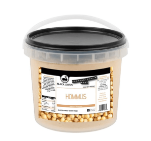 Hummus Dip 2kg Tub (Call Office For Availability) Black Swan