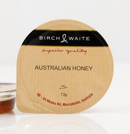 Honey Australian Portion Control 300 x 13g Box Birch & Waite